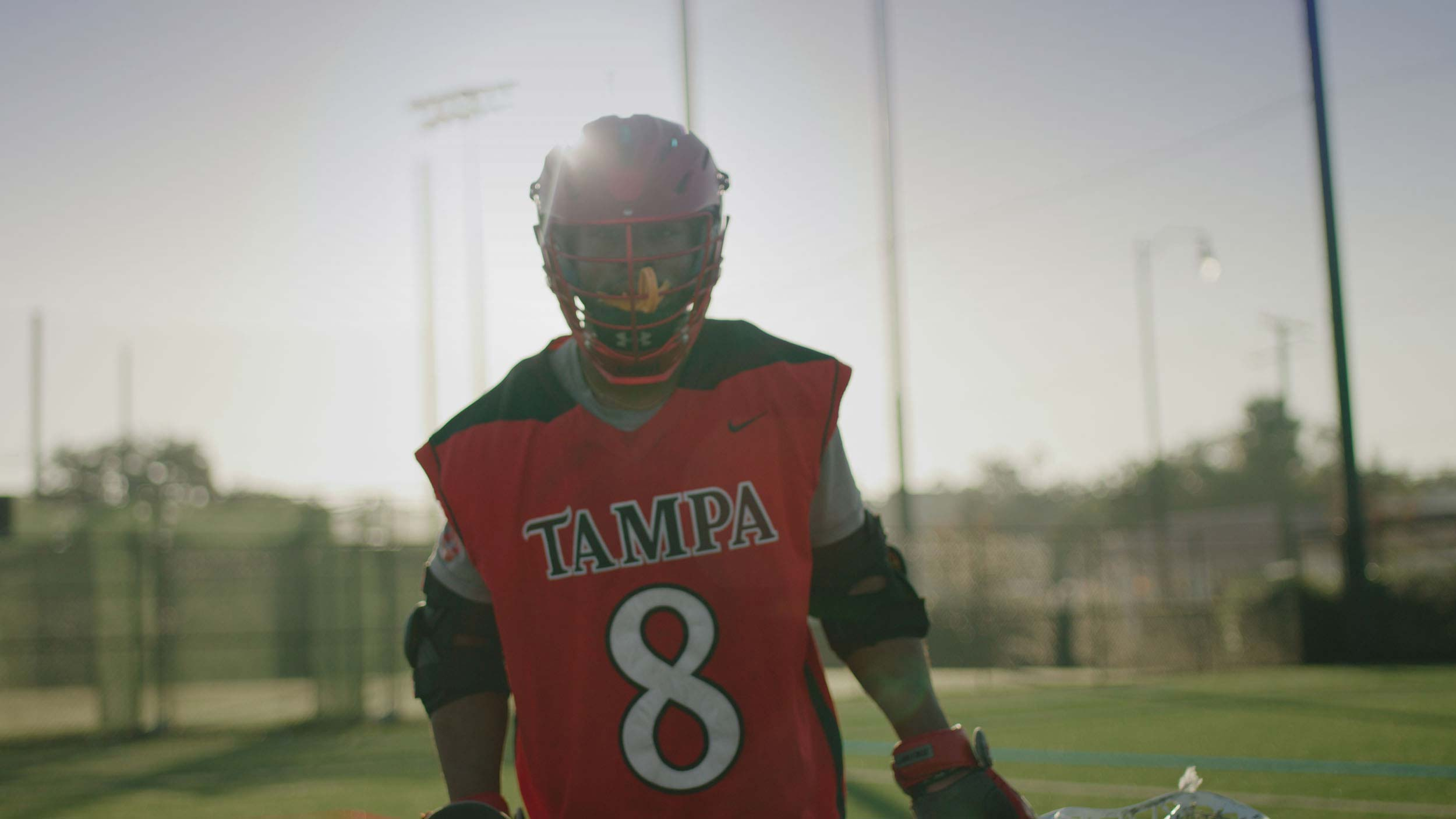 university of tampa lacrosse player