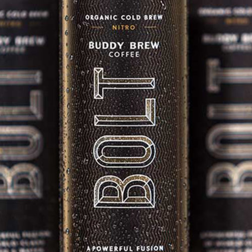 Buddy Brew bolt can design