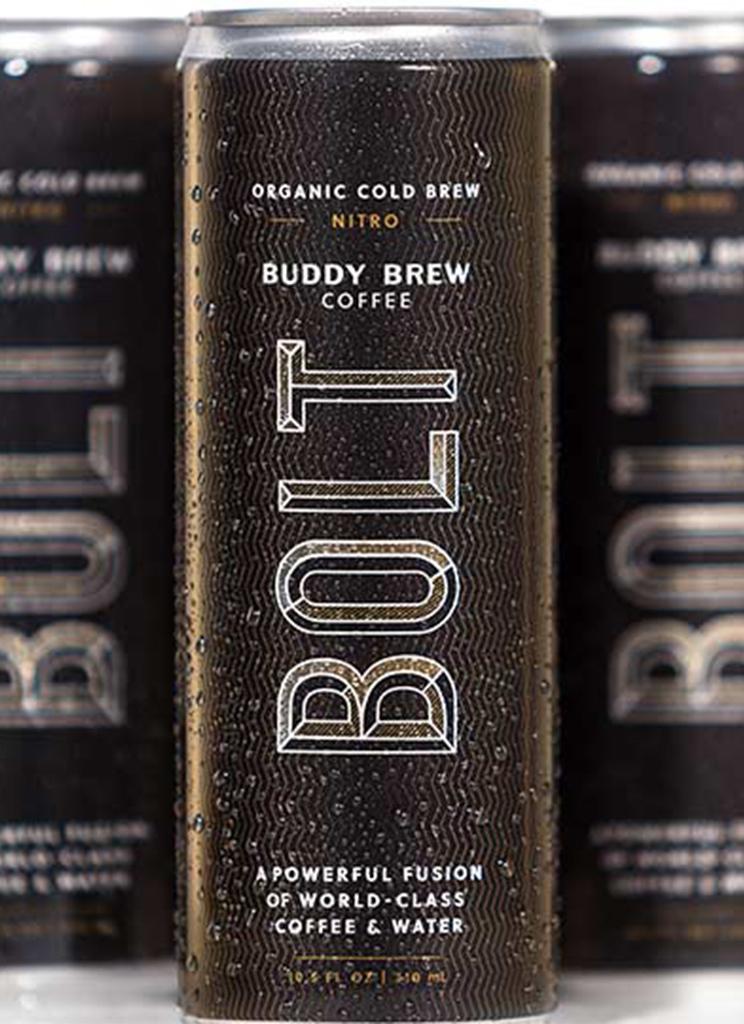 Buddy Brew bolt can design