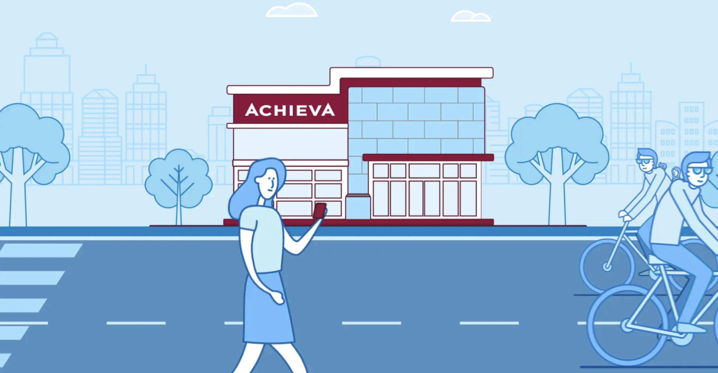 Achieva branch animation